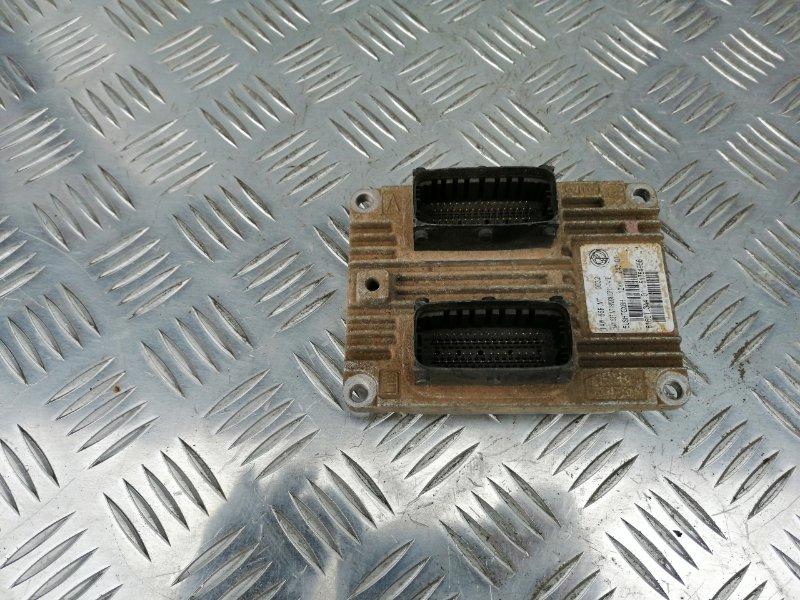 Блок управления двигателем Fiat Albea 350A1000 2008 (б/у)