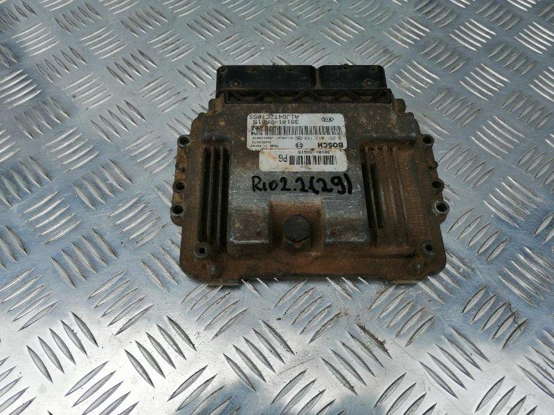 Блок управления двигателем Kia Rio 2 JB D4FA 2007 (б/у)