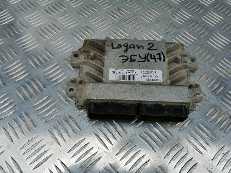 Блок управления двигателем Renault Logan LS0G/LS12 K7J 2009 (б/у)