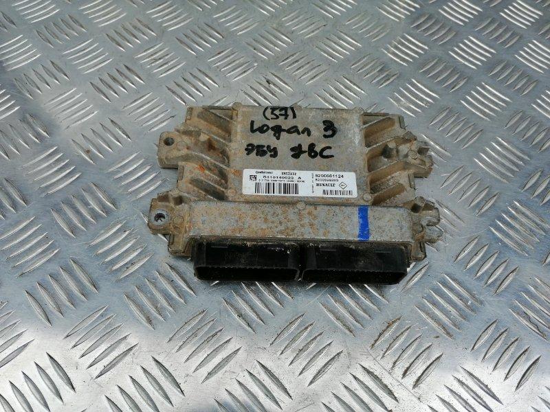 Блок управления двигателем Renault Logan LS0G/LS12 K7J 2008 (б/у)