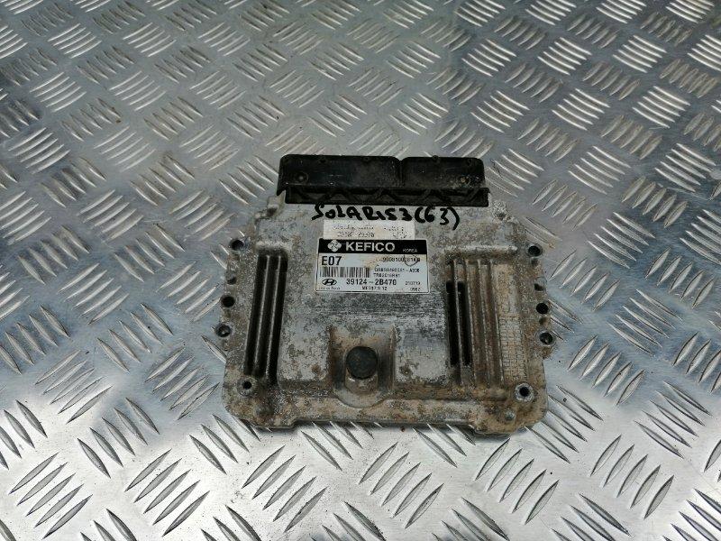 Блок управления двигателем Hyundai Solaris RB G4FC 2011 (б/у)