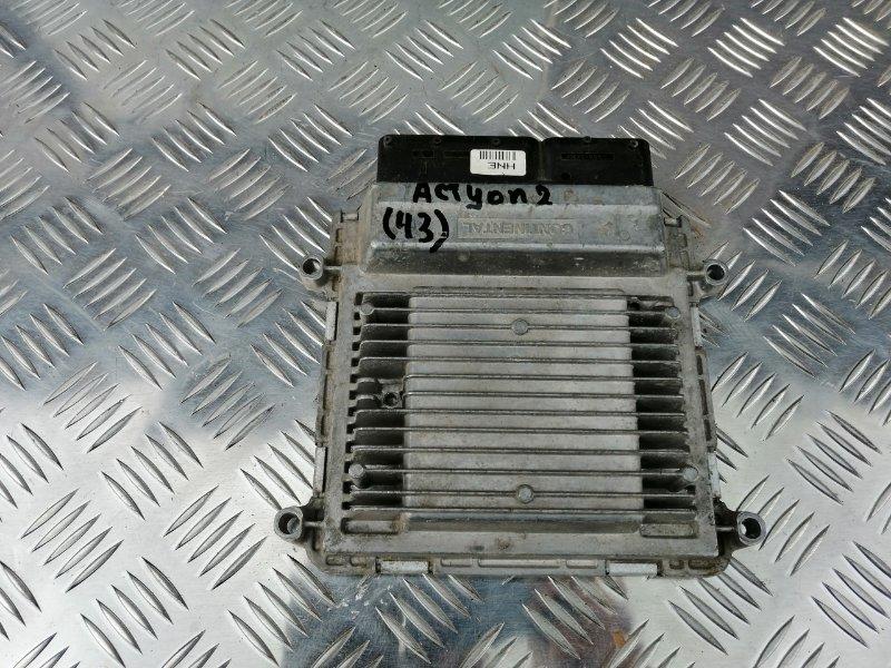 Блок управления двигателем Ssangyong Actyon New CK G20 2013 (б/у)