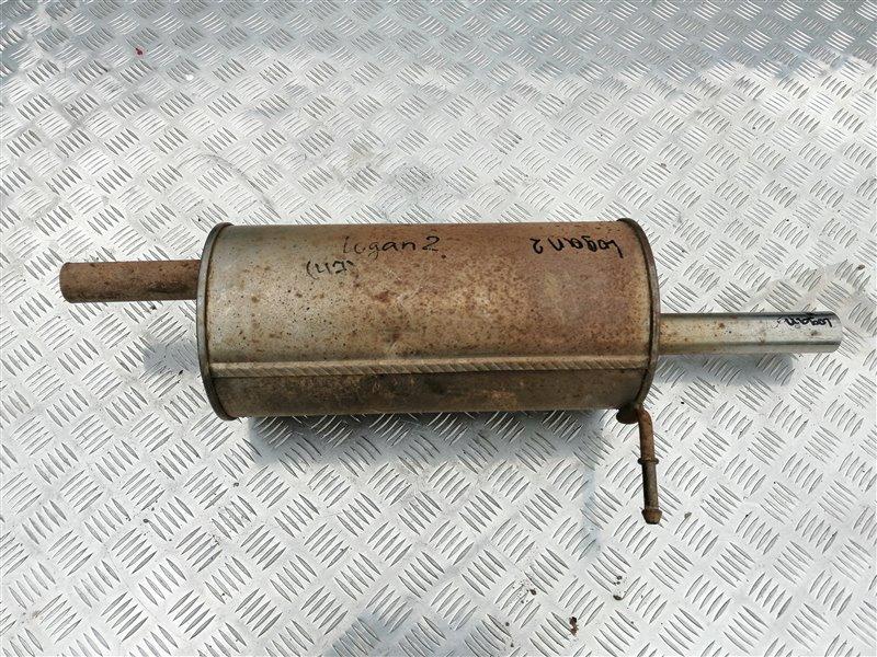 Задняя часть глушителя Renault Logan LS0G/LS12 K7J 2009 задняя (б/у)