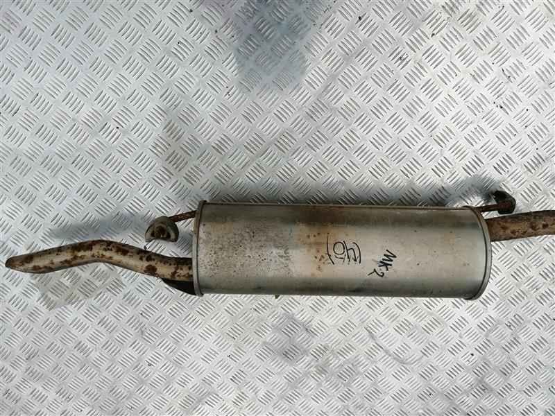 Задняя часть глушителя Geely Mk MR479QA 2012 задняя (б/у)