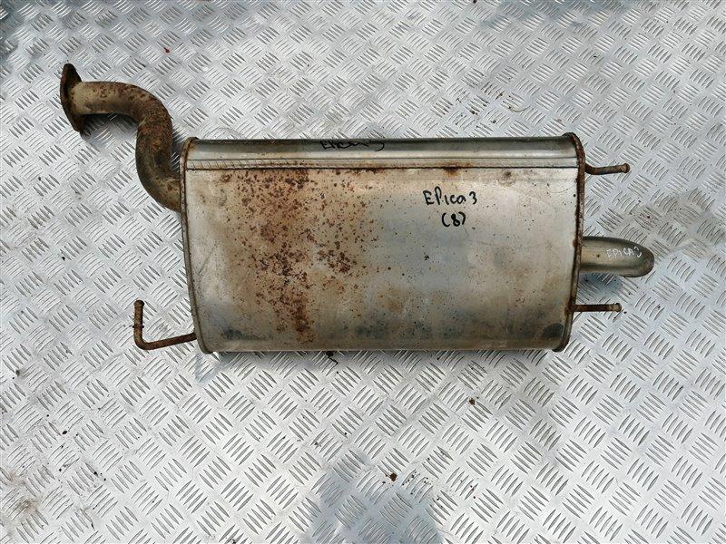 Задняя часть глушителя Chevrolet Epica V250 X20D1 2011 задняя (б/у)