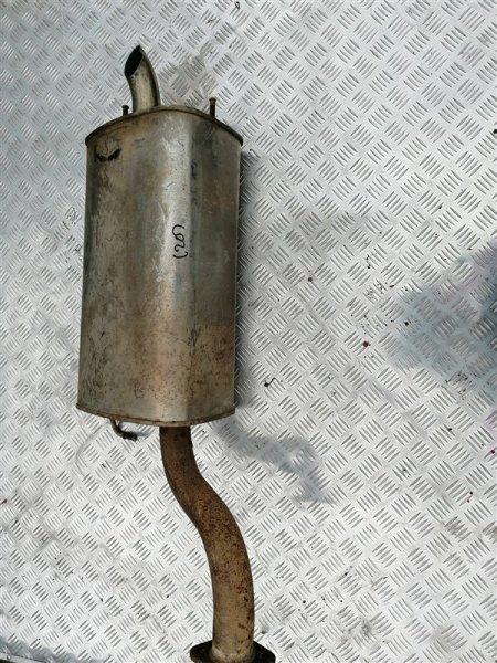 Задняя часть глушителя Chevrolet Epica V250 X20D1 2010 задняя (б/у)