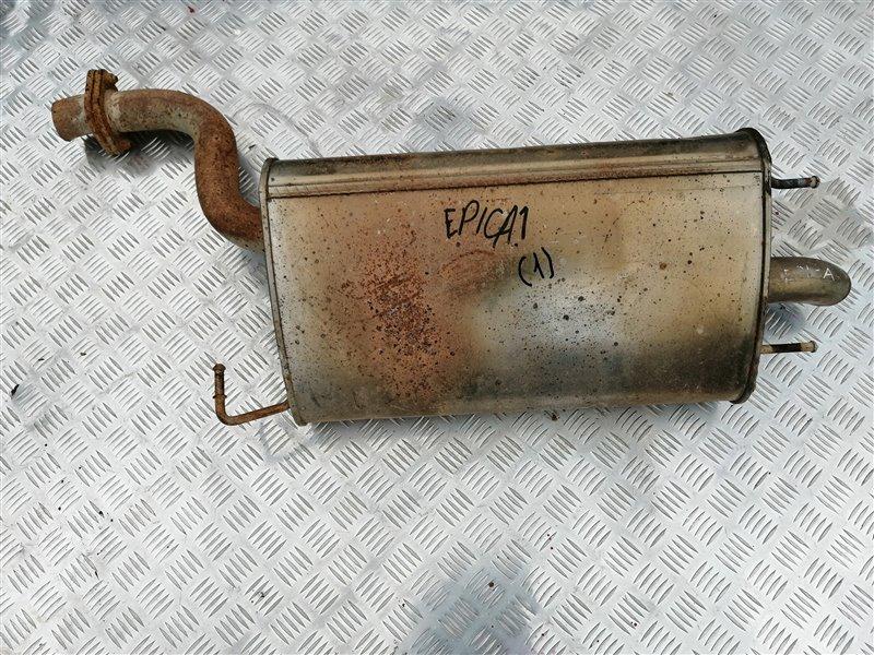 Задняя часть глушителя Chevrolet Epica V250 X20D1 2007 задняя (б/у)