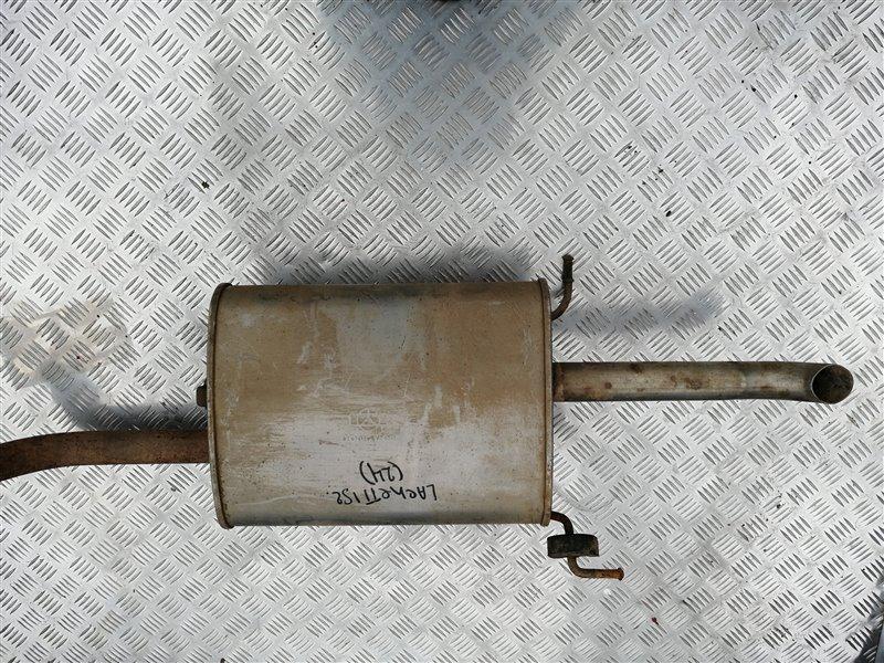 Задняя часть глушителя Chevrolet Lacetti J200 F14D3 2012 задняя (б/у)