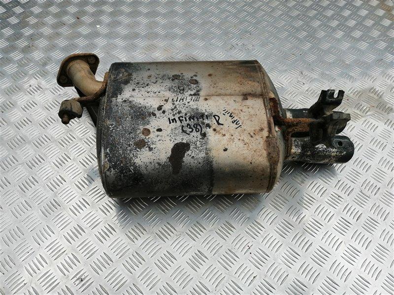 Задняя часть глушителя Infiniti M35 Y50 VQ35 2008 задняя правая (б/у)