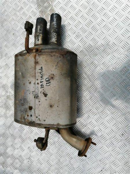 Задняя часть глушителя Infiniti M35 Y50 VQ35 2008 задняя левая (б/у)