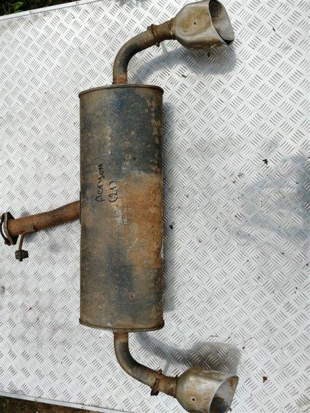 Задняя часть глушителя Ssangyong Actyon New CK D20T 2012 (б/у)
