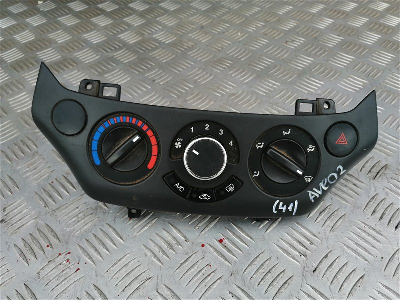 Блок управления печкой Chevrolet Aveo T250 B12D1 2008 (б/у)