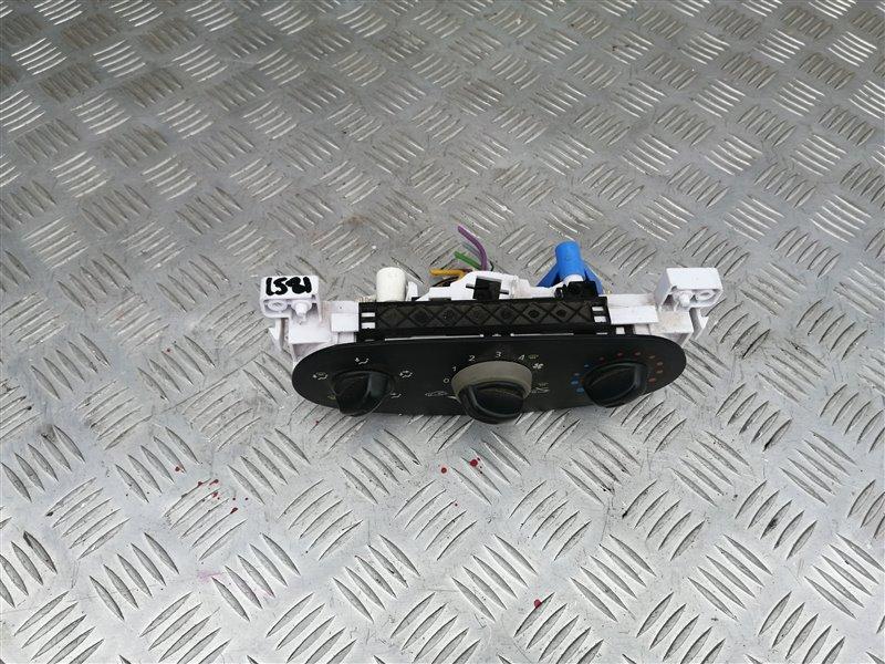 Блок управления печкой Renault Sandero BS12 K7J 2011 (б/у)