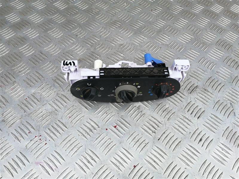 Блок управления печкой Renault Sandero BS12 K7M 2012 (б/у)