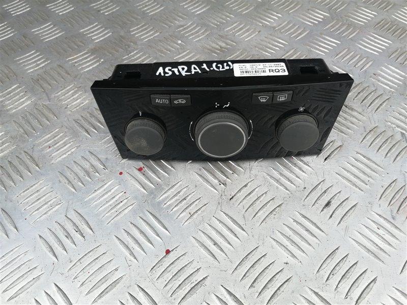 Блок управления печкой Opel Astra H Sedan L69 Z18XER 2008 (б/у)