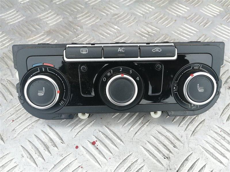 Блок управления печкой Volkswagen Jetta 6 162 CLR 2012 (б/у)