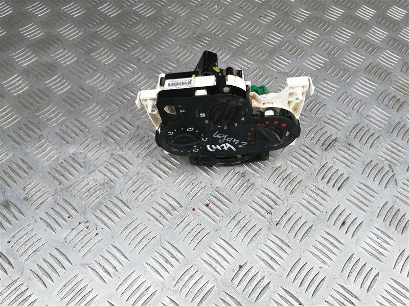 Блок управления печкой Renault Logan LS0G/LS12 K7J 2009 (б/у)