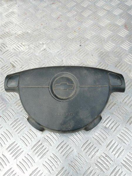 Подушка безопасности в рулевое колесо Chevrolet Lacetti J200 F16D3 2007 левая (б/у)