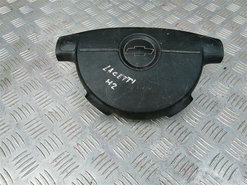 Подушка безопасности в рулевое колесо Chevrolet Lacetti J200 F16D3 2006 левая (б/у)