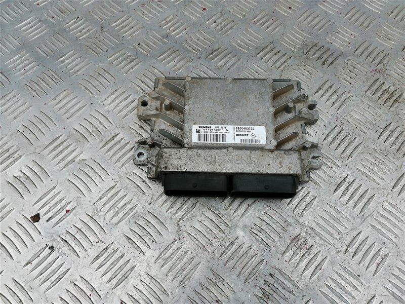 Блок управления двигателем Renault Logan LS0G/LS12 K7J 2007 (б/у)