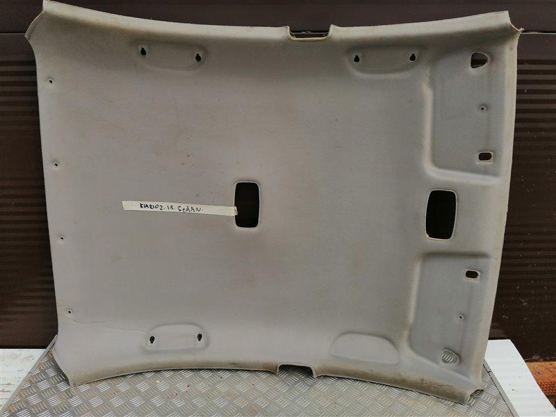 Обшивка потолка Kia Rio 2 JB D4FA 2007 (б/у)