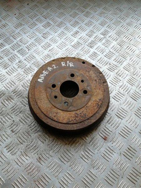 Тормозной барабан Fiat Albea 350A1000 2008 задний правый (б/у)