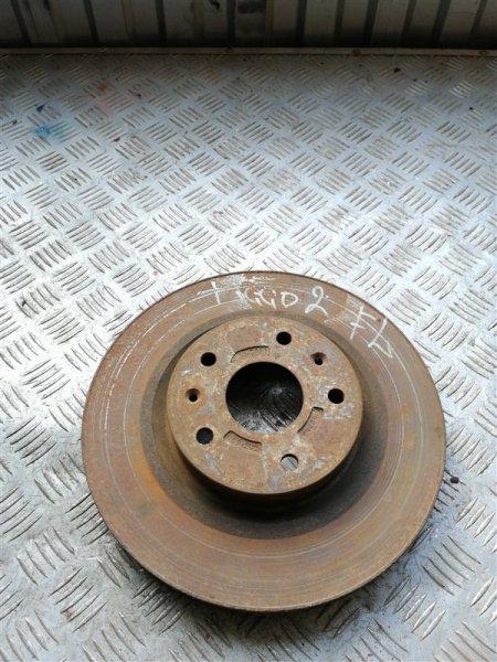 Тормозной диск Vortex Tingo T11 SQR 481FC 2011 передний левый (б/у)