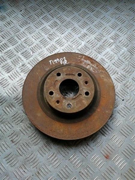 Тормозной диск Vortex Tingo T11 SQR 481FC 2011 передний правый (б/у)