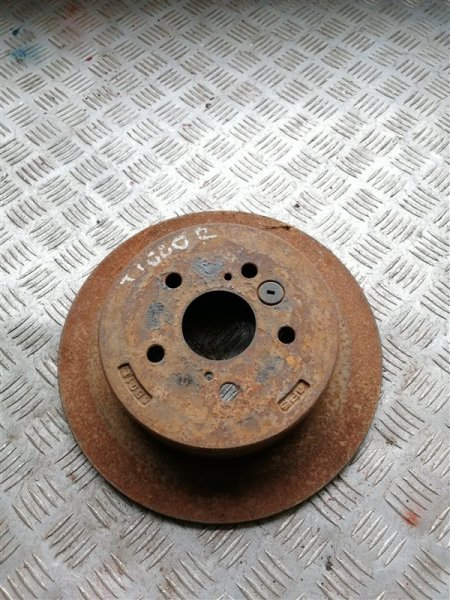 Тормозной диск Vortex Tingo T11 SQR 481FC 2011 задний левый (б/у)