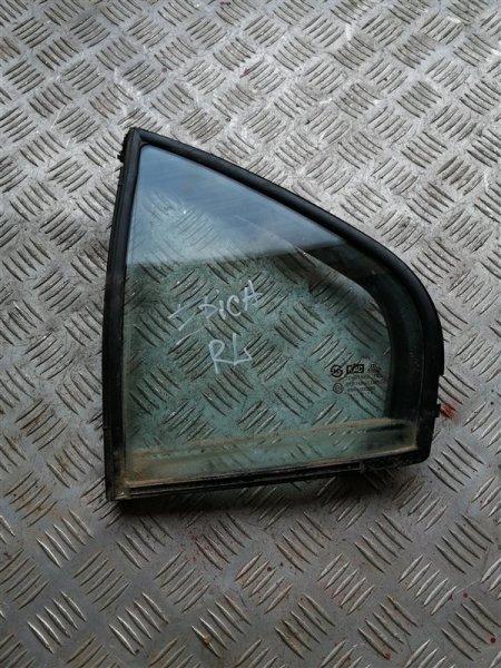 Стекло глухое Chevrolet Epica V250 X20D1 2007 заднее левое (б/у)