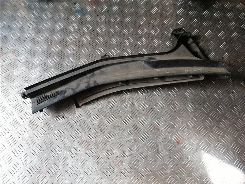 Решетка под лобовое стекло Infiniti M35 Y50 VQ35 2008 правая (б/у)
