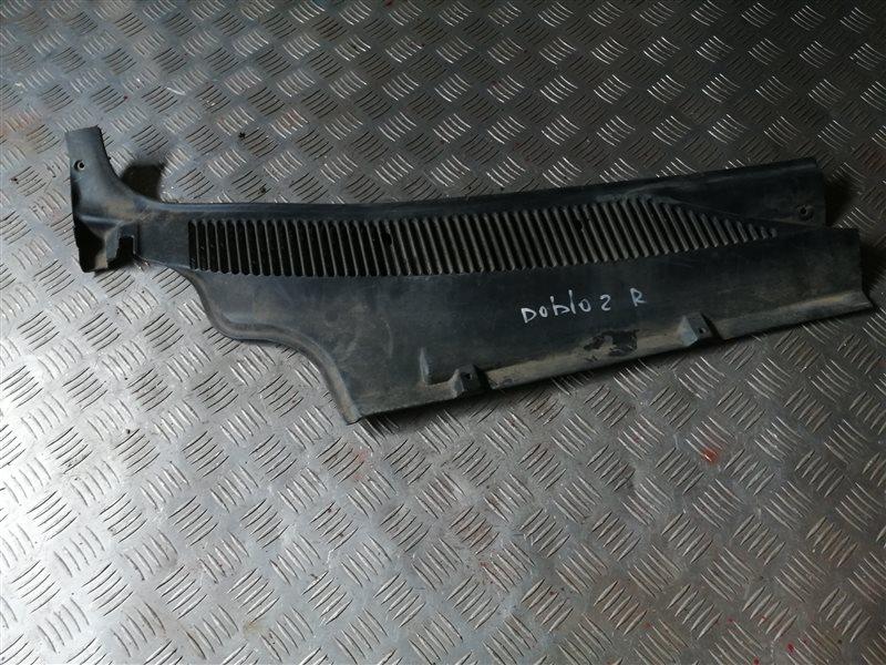 Решетка под лобовое стекло Fiat Doblo 223 350A1000 2011 правая (б/у)