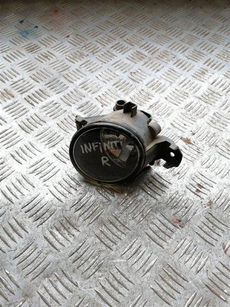 Фара противотуманная Infiniti M35 Y50 VQ35 2008 передняя правая (б/у)