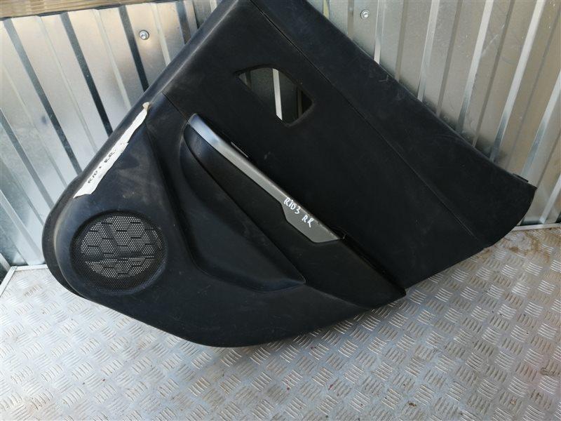 Обшивка двери Kia Rio 3 QB G4FC 2014 задняя правая (б/у)
