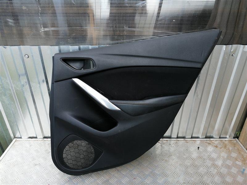 Обшивка двери Mazda 6 GJ PE-VPS 2014 задняя правая (б/у)