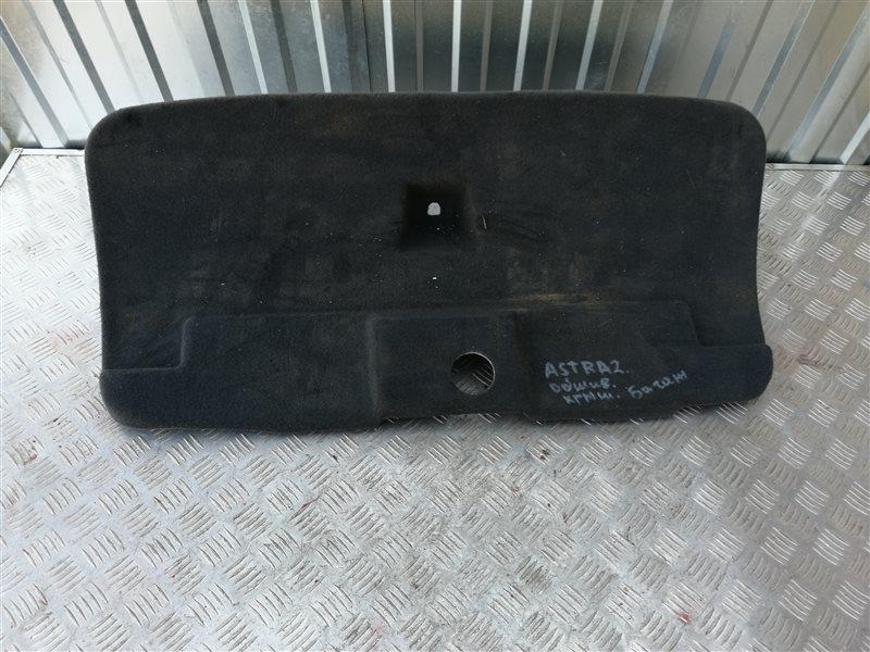 Обшивка крышки багажника Opel Astra H Sedan L69 Z16XER 2009 задняя (б/у)