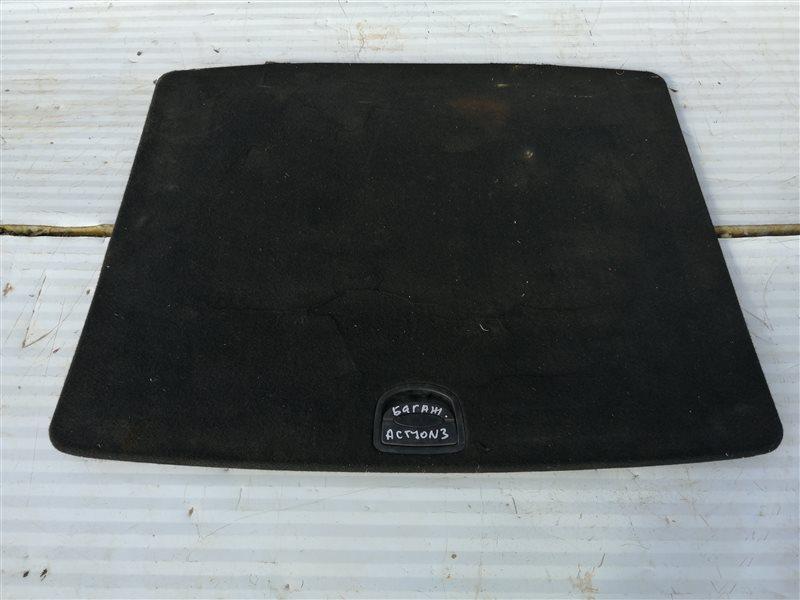 Пол багажника Ssangyong Actyon New CK D20T 2011 задний (б/у)
