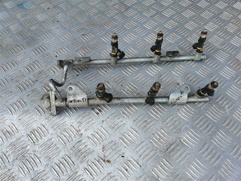 Топливная рампа Infiniti M35 Y50 VQ35 2008 (б/у)