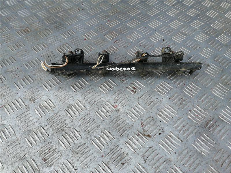 Топливная рампа Renault Sandero BS12 K7J 2011 (б/у)