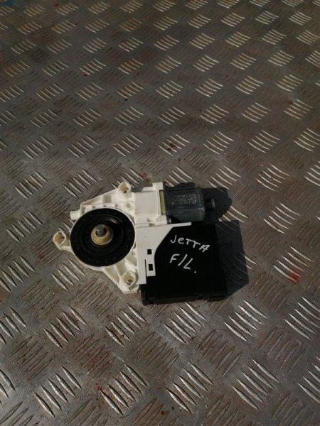 Моторчик стеклоподъемника Volkswagen Jetta 6 162 CLR 2012 передний левый (б/у)