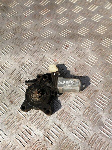 Моторчик стеклоподъемника Kia Cerato 2 TD G4FC 2011 задний левый (б/у)