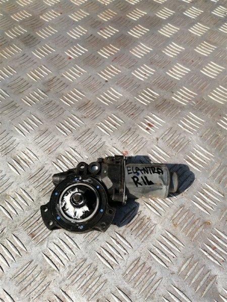 Моторчик стеклоподъемника Hyundai Elantra HD G4GC 2007 задний левый (б/у)