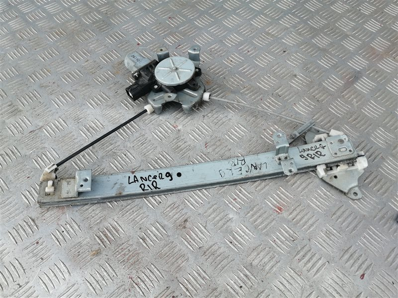 Стеклоподъемник Mitsubishi Lancer 9 CS1A 4G18 2007 задний правый (б/у)