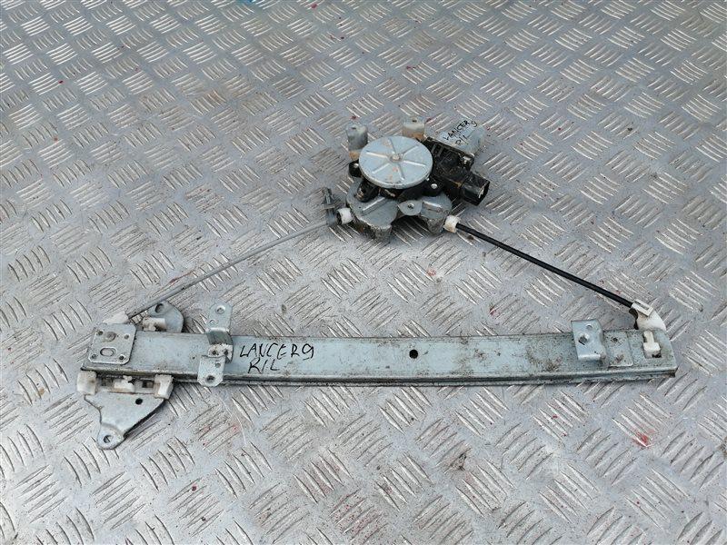 Стеклоподъемник Mitsubishi Lancer 9 CS1A 4G18 2007 задний левый (б/у)