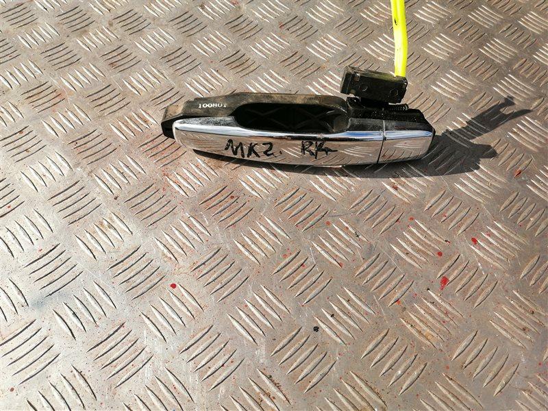Ручка двери внешняя Geely Mk MR479QA 2012 задняя левая (б/у)