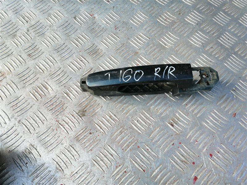 Ручка двери внешняя Vortex Tingo T11 SQR 481FC 2011 задняя правая (б/у)