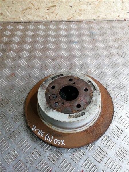 Тормозной диск Lifan X60 LFB479Q 2017 задний левый (б/у)