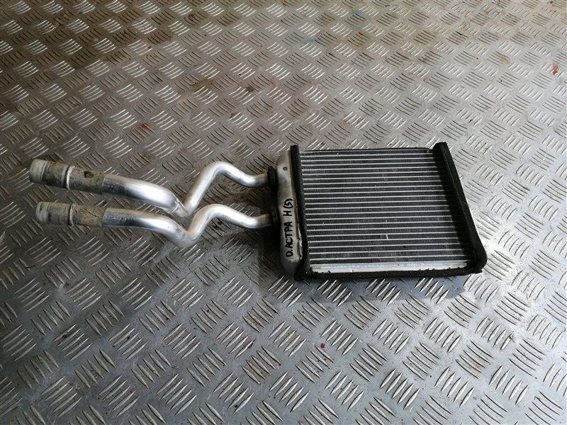 Радиатор печки Opel Astra H Sedan L69 Z16XER 2008 (б/у)