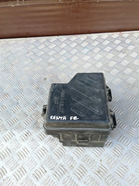 Блок предохранителей моторный Hyundai Santa Fe CM G4KE 2010 (б/у)