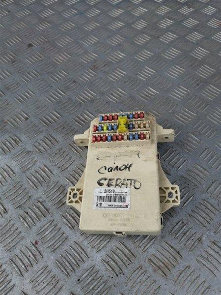 Блок предохранителей Kia Cerato 2 TD G4FC 2011 (б/у)